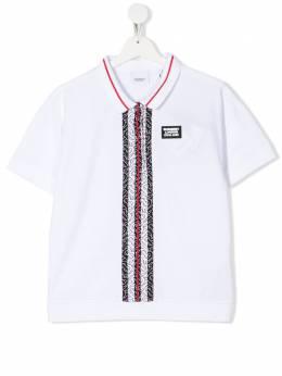 Burberry Kids рубашка-поло Rebecca 8026012