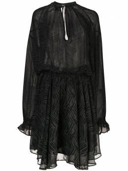 Anine Bing платье Elliana с длинным рукавами A020017342