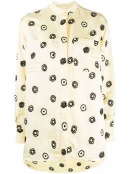Soulland рубашка Ivalo с цветочной вышивкой W0102031IVALO