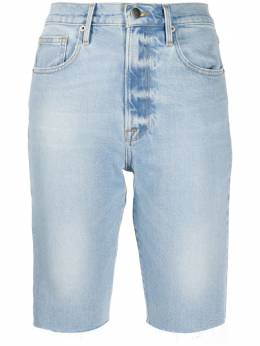 Frame джинсовые шорты с эффектом потертости LVBRA204A