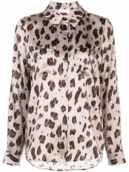 Anine Bing рубашка Vivienne с леопардовым принтом A106005121