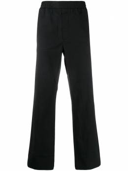 Acne Studios укороченные брюки в тонкую полоску BK0222