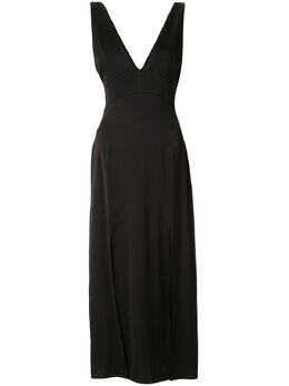 Manning Cartell коктейльное платье без рукавов с V-образными рукавами 20W51839