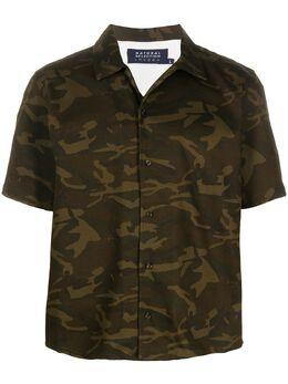 Natural Selection рубашка оверсайз с камуфляжным принтом NSSHIPANMHOK191