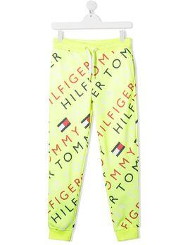 Tommy Hilfiger Junior спортивные брюки с логотипом KB0KB05947