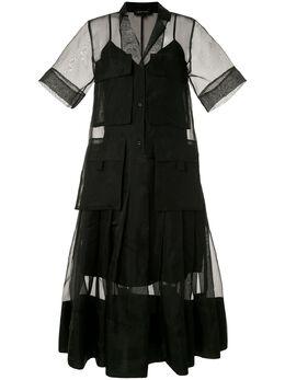 Lee Mathews платье миди Callie M1904DR106