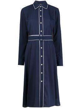 Polo Ralph Lauren платье с кантом 211781150
