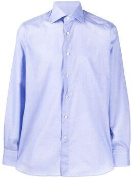 Canali рубашка с косым воротником 7758GF00985