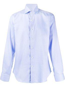 Canali рубашка на пуговицах NXC3GR01846