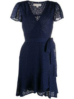 MICHAEL Michael Kors платье из цветочного кружева MS08ZL8DZE
