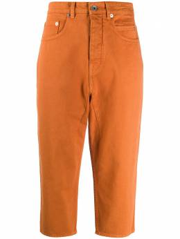 Rick Owens DRKSHDW джинсы с низким шаговым швом DS20S5307DO