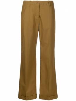 Aspesi брюки с завышенной талией и складками H107D307