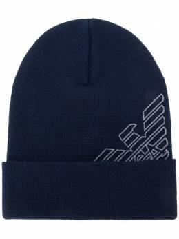 Emporio Armani шапка бини с логотипом 627818CC504