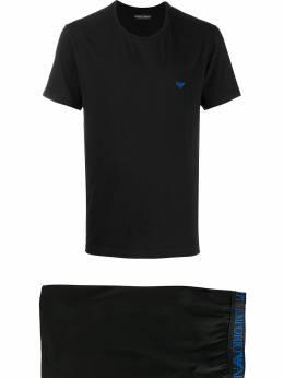 Emporio Armani спортивный костюм с логотипом 1115730P720