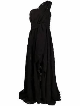 Federica Tosi коктейльное платье асимметричного кроя на одно плечо AB0700CH0013