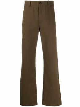 Acne Studios твиловые брюки прямого кроя BK0002