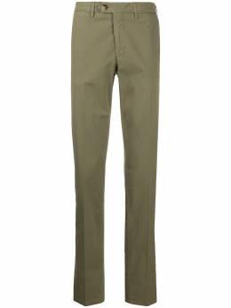 Canali брюки чинос с пуговицами PT0045291633