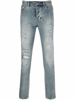 Ksubi джинсы прямого кроя с эффектом потертости 5000004585