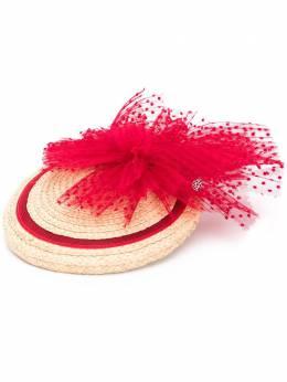 Maison Michel плетеная мини-шляпа 2388001001