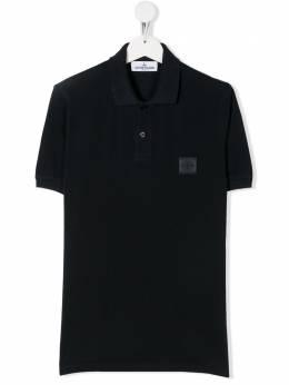 Stone Island Junior рубашка-поло с логотипом MO721620949