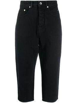 Rick Owens DRKSHDW укороченные джинсы Donero DS20S5307DO