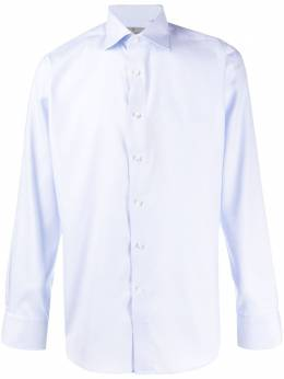 Canali рубашка на пуговицах N758GR01586