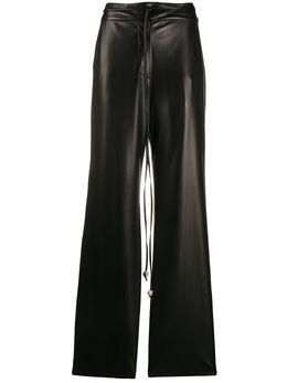 Nanushka расклешенные брюки Chimo CHIMO151