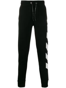 Philipp Plein спортивные брюки с полосками A19CMJT1418PJO002N