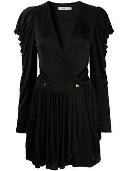 Amen платье мини с драпировкой AMS20416