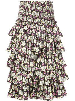 Cinq A Sept юбка Mira с цветочным принтом ZS1903428Z