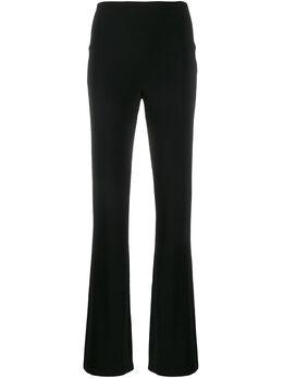 Norma Kamali брюки прямого кроя с завышенной талией KK4267PL142