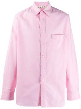 Marni рубашка с длинными рукавами CUMU0131S0S52493