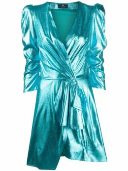 Elisabetta Franchi платье мини с запахом AB13102E2