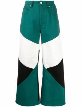 Kirin брюки в стиле колор-блок KWYA005S20DEN0015700