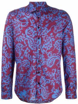 Etro рубашка с принтом 163764789