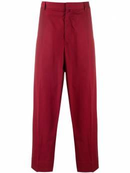 Maison Flaneur строгие брюки свободного кроя 20SMUPA100TC127
