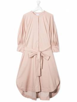 Unlabel платье-рубашка с поясом BEGONIA209