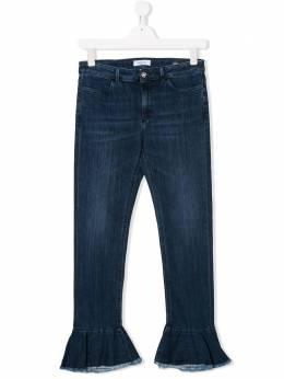 Dondup Kids джинсы с оборками YP310BDS0112GAI1