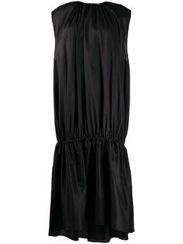 Toteme длинное платье со сборками 202603711