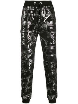 Philipp Plein спортивные брюки с принтом A19CMJT1325PJO002N