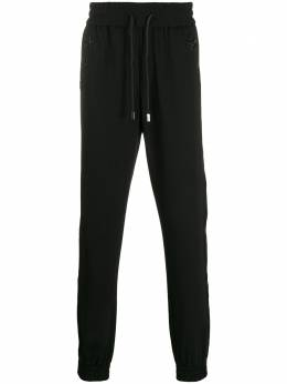 Philipp Plein спортивные брюки с лампасами A19CMRT0680PTE003N