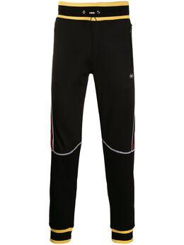 Philipp Plein спортивные брюки с контрастными полосками A19CMJT1415PJO002N