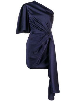 Solace London платье мини с одним рукавом OS26064