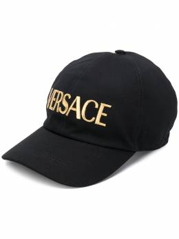 Versace кепка с вышитым логотипом ICAP006A234764