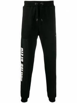 Philipp Plein зауженные спортивные брюки с логотипом F19CMJT1271PJO002N