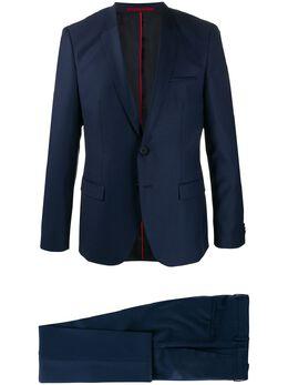 Hugo строгий костюм с однобортным пиджаком 50426270