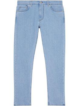 Burberry джинсы кроя слим из японского денима 8028883