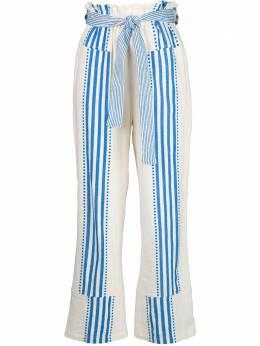 Lemlem брюки Eshe с завышенной талией SW2007BLUE