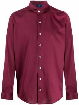 Barba рубашка с косым воротником 7400160510