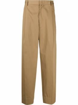 Maison Flaneur строгие брюки свободного кроя 20SMUPA100